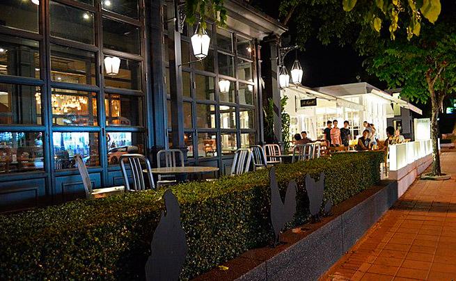 Ресторан La Ferme- веранда