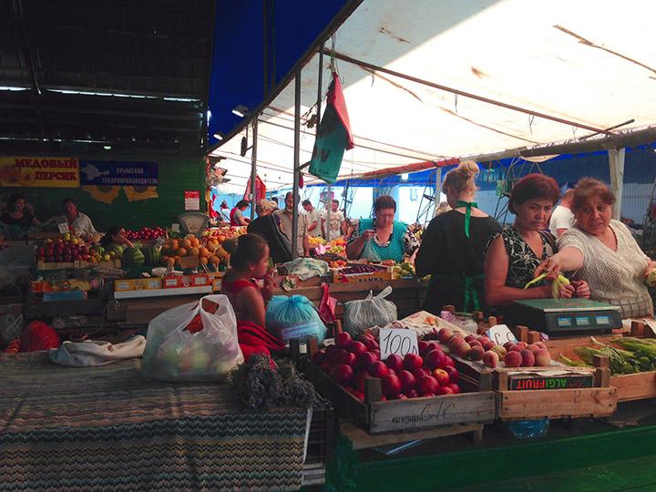 рынок в евпатории фото