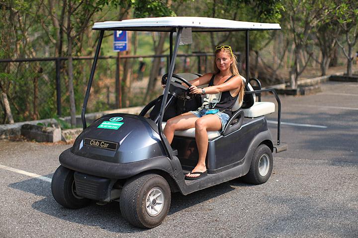 гольф кар в Кхао Кхео