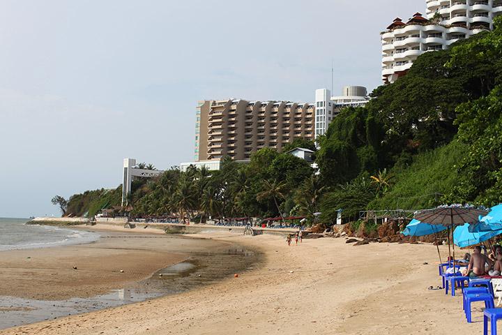 Пляж Роял Клифа. Так он выглядит в апреле, после отлива