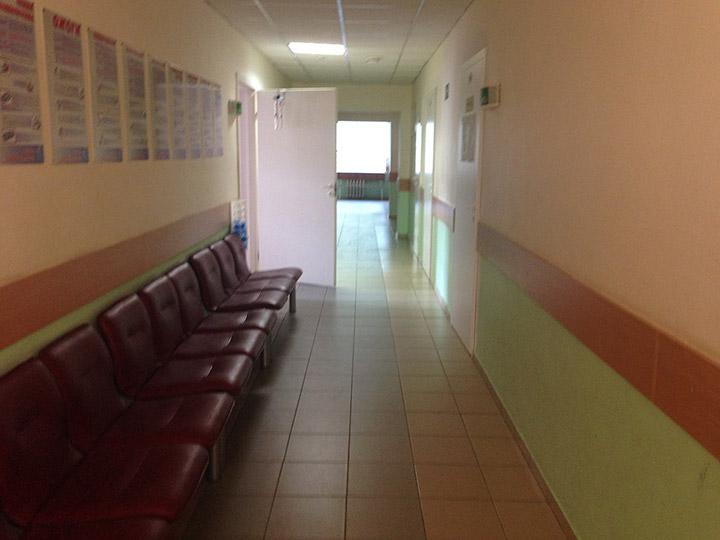 46 поликлиника, чисто и даже кулер с водой есть