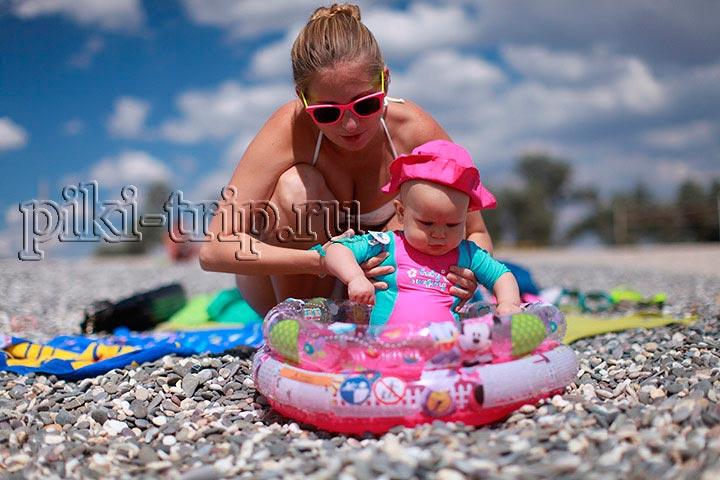 маленький бассейн для купания малыша