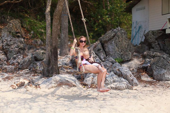 на море с малышом в Таиланде