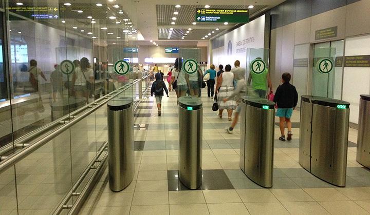 аэропорт домодедово выход