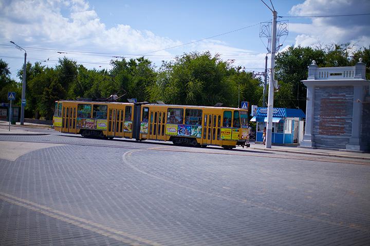 Трамвай в Евпатории