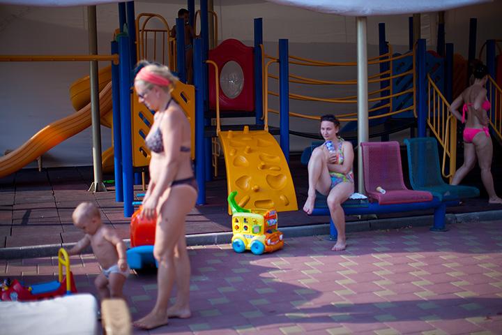 гостиница Украина Евпатория - детям