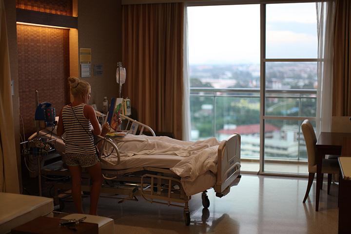 бангкок паттайя госпиталь - палата
