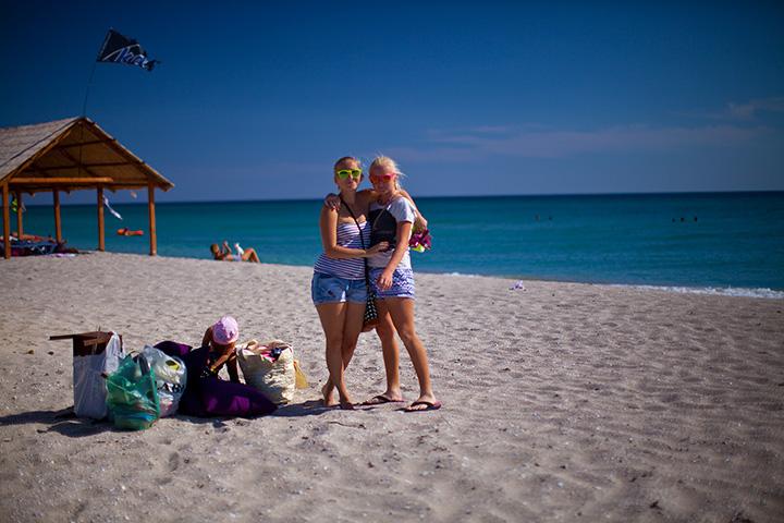 я со своими дочками