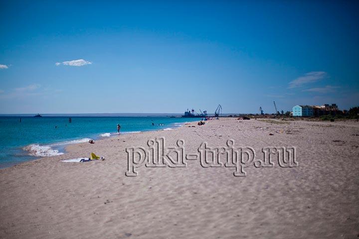 Евпатория фото крым пляж Мирный