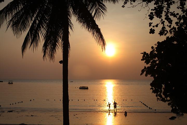 волешбные закаты острова Самет