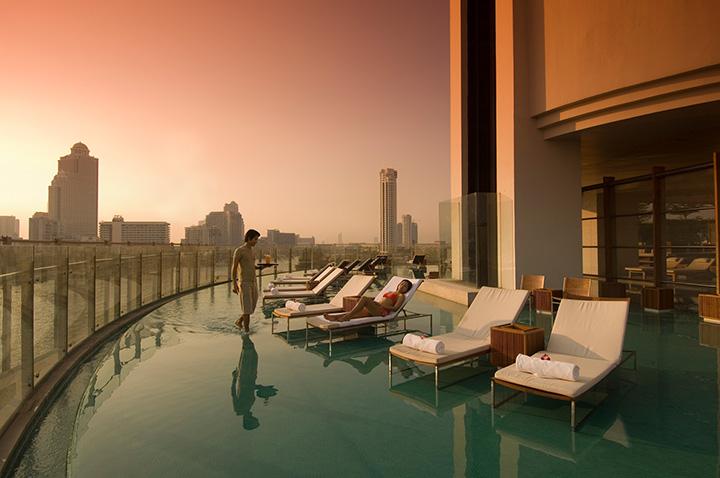 Миллениум Хилтон в Бангкоке- шикарная гостиница, рекомендуем!