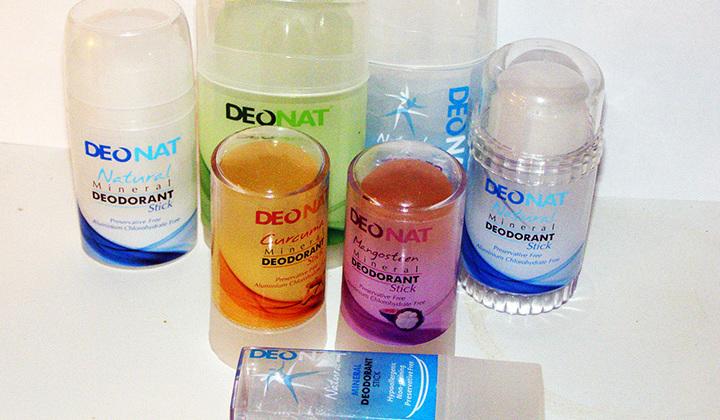 Дезодорант из натуральных минералов вред