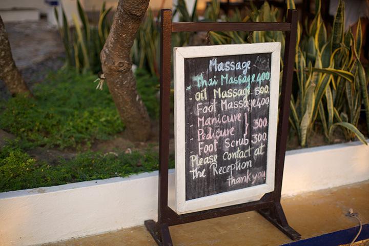 цены на массаж выше чем в Паттайе, так везде на островах