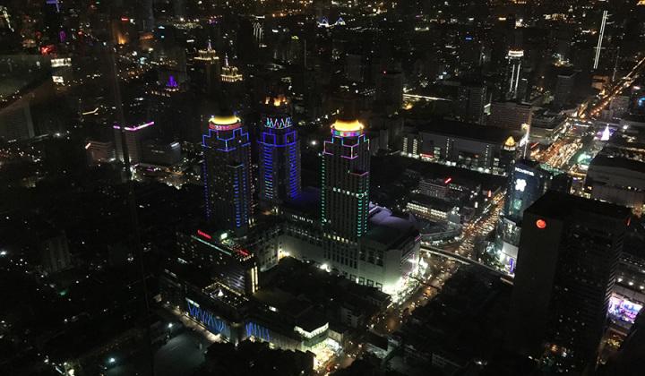 Байок Скай - вид на Бангкок