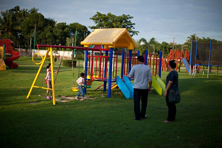 детская площадка, которых так не хватает в Паттайе