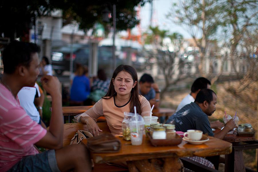 отдыхающие тайцы фото