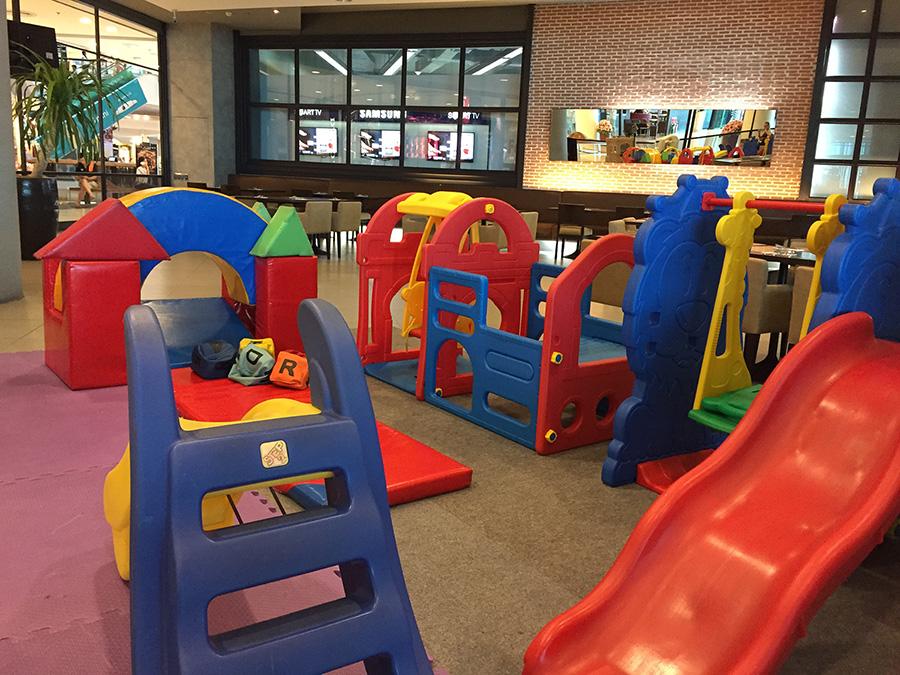 детская комната в кафе в Паттайе