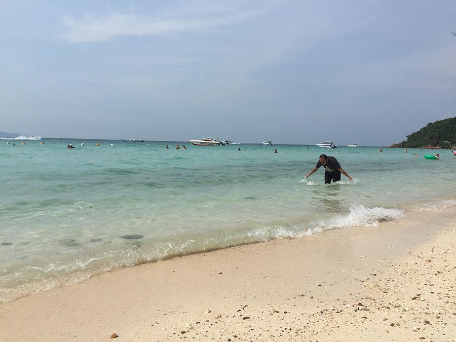 один из пляже ко лана - тиен фото