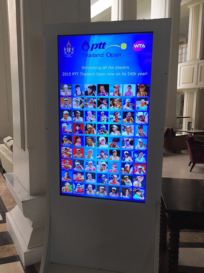 список теннисисток в этом году в Паттайя Опен 2015 (Pattaya Open)  фото