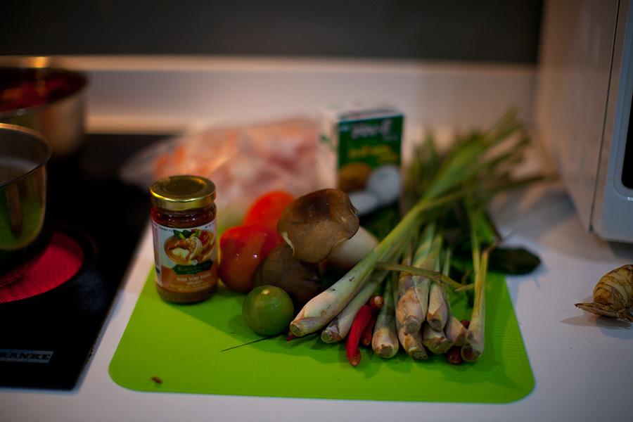 ингредиенты для супа том ям фото