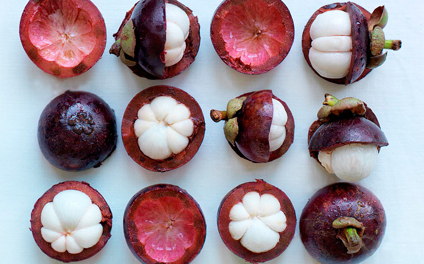 вкуснейший и нежнейший тайский фрукт - мангостин!