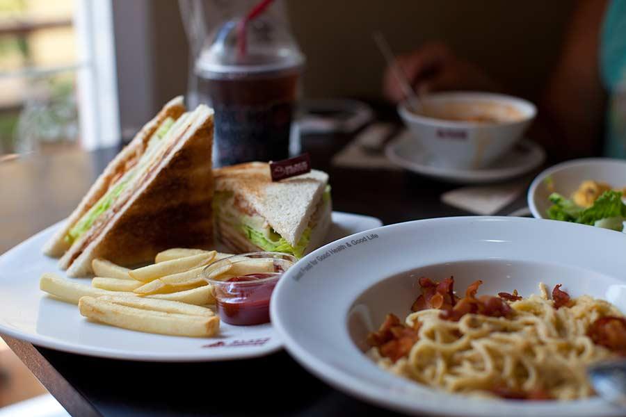 сэндвичи в Паттайе фото
