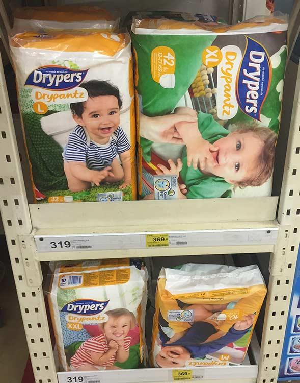 drypers в тае, цена , фото