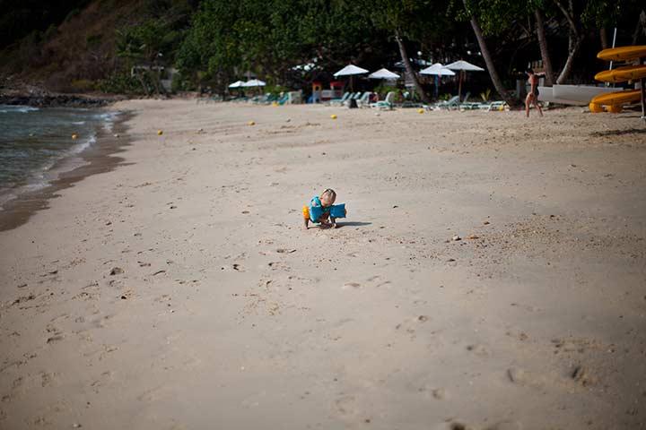 на пляжах в мае в Тайланде мало народу