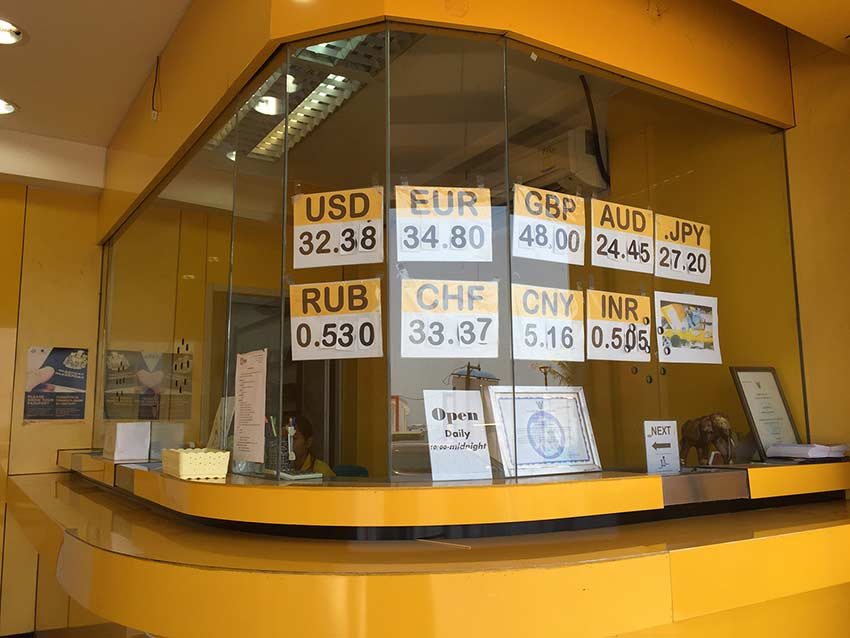 курс рубля к бату в паттайе сегодня