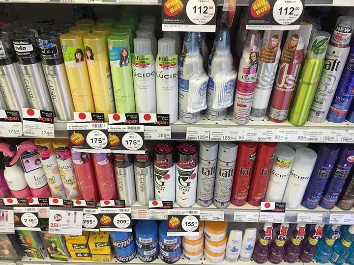 лаки для волос стоят дорого в паттайе
