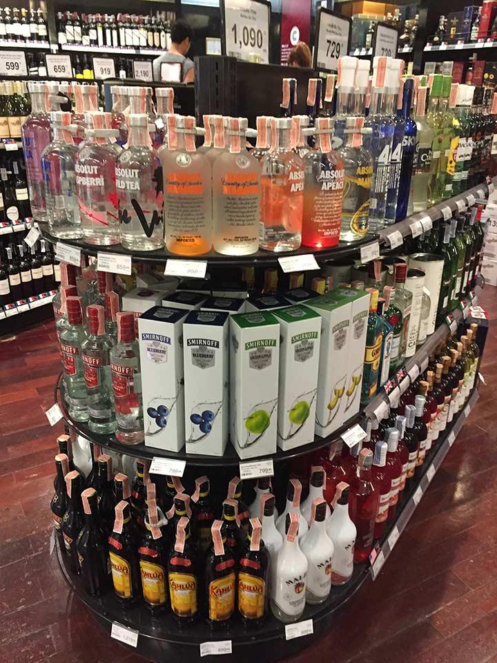 цены на алкоголь в паттайе фото
