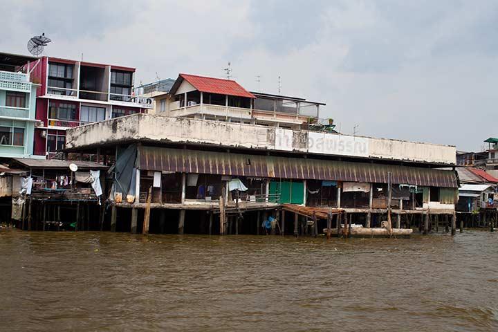 фавеллы Бангкока фото