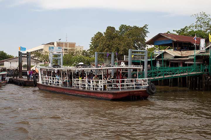 Чао Прайя - речные прогулки по Бангкоку фото
