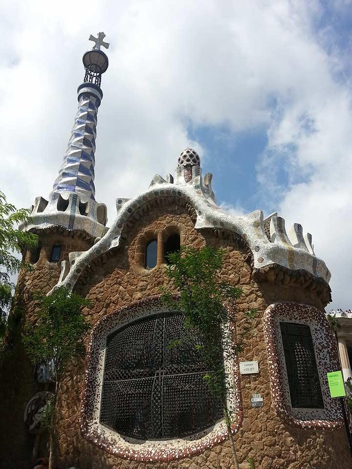 Парк Гуэля в Барселоне (фото)