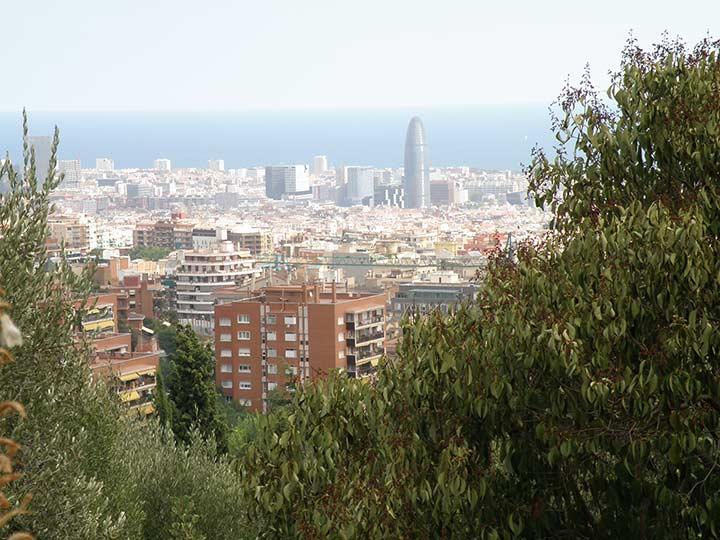 Панорама города. Барселона (фото)