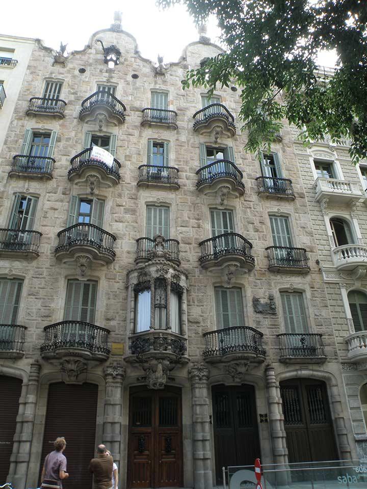 Дом Кальвет в Барселоне (фото)