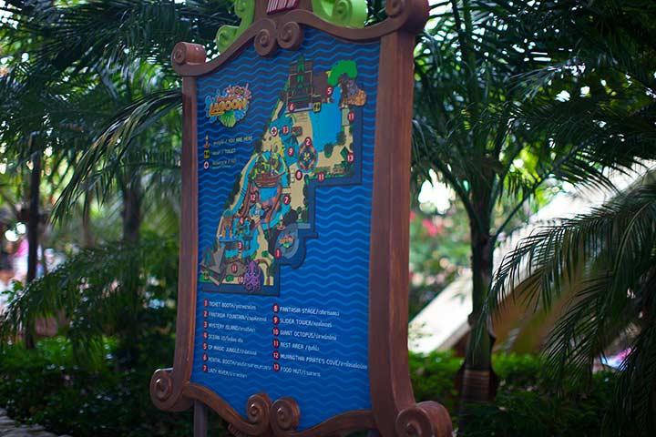 карта самого аквапарка фантазия лагуна