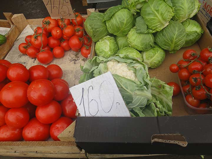 Цены на продукты в Крыму
