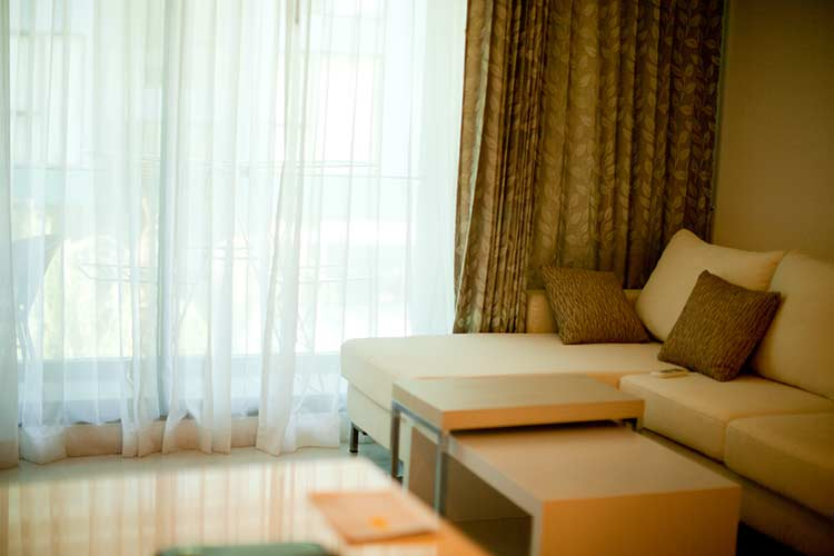 гостиная просторная