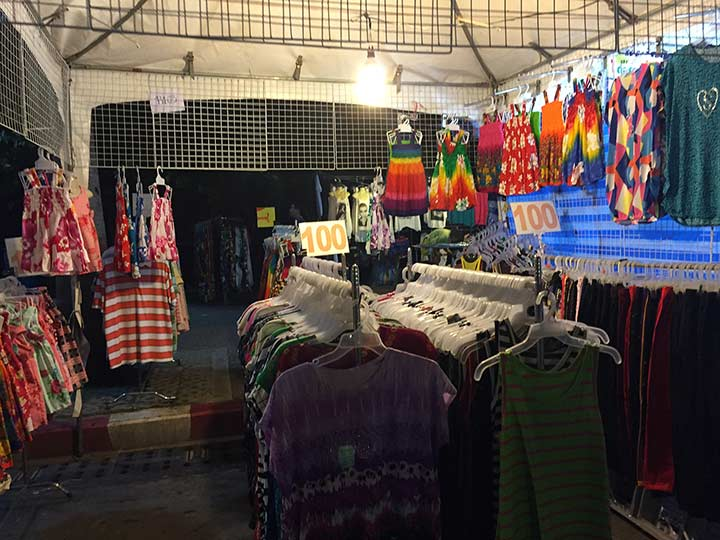 Дешевая Паттайя - цены на одежду.