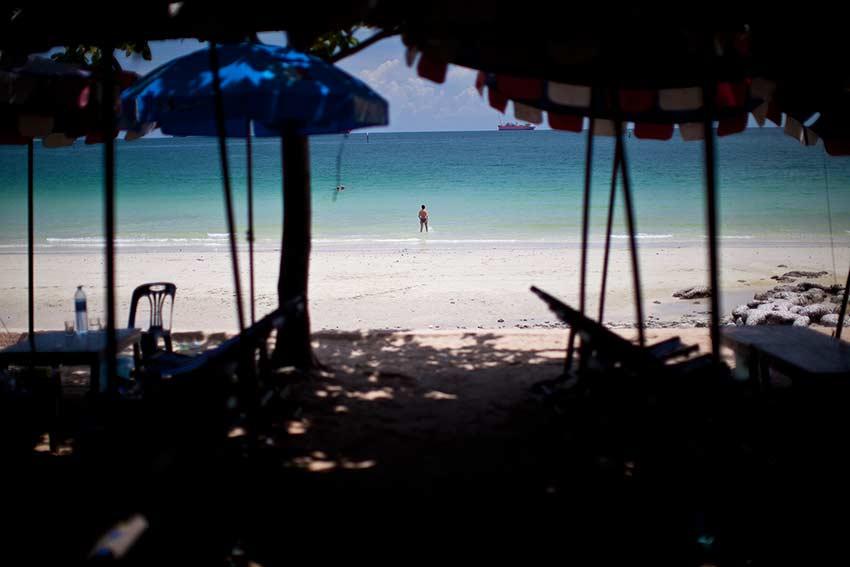 пляж Тампанг на Сичанге