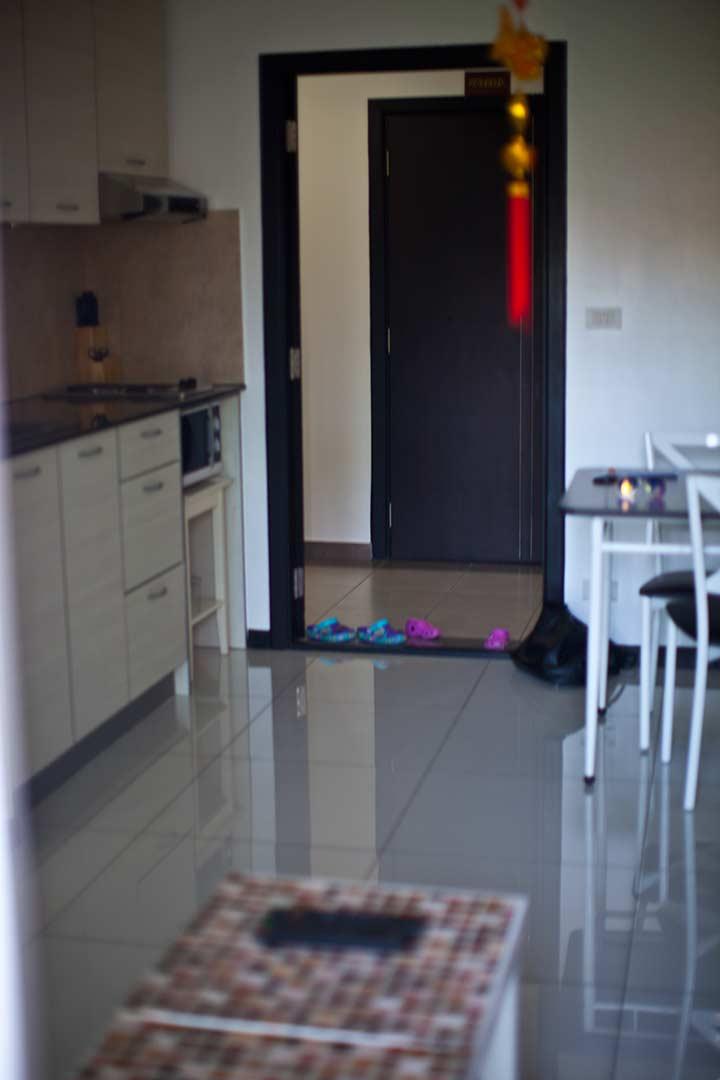 кухня и часть гостиной