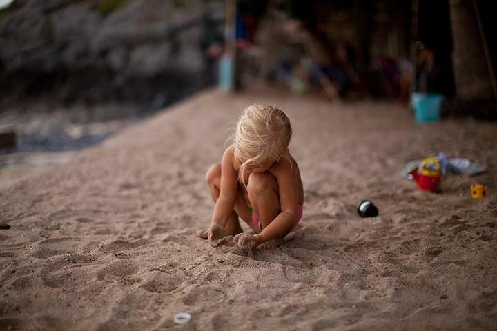детям на море конечно же нравится