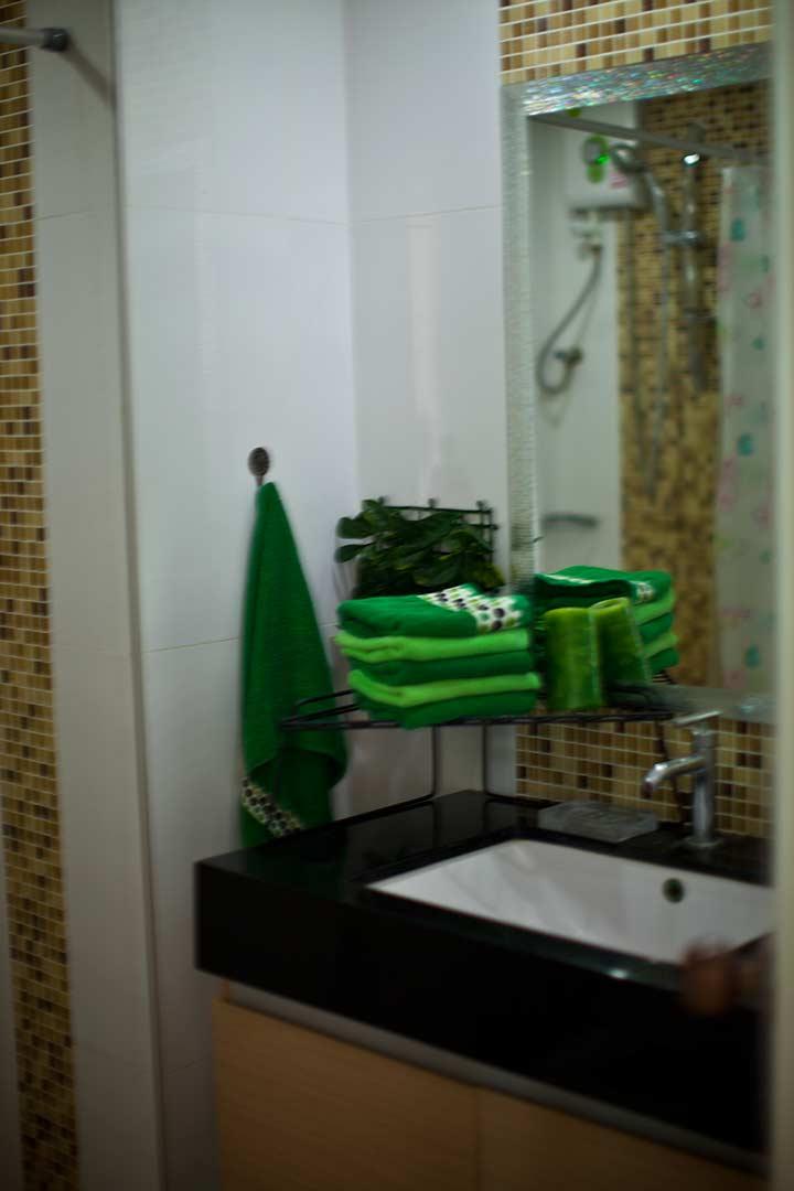 кусочек ванной комнаты