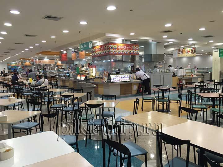 Где поесть в Паттайе - фудкорт Теско Лотус
