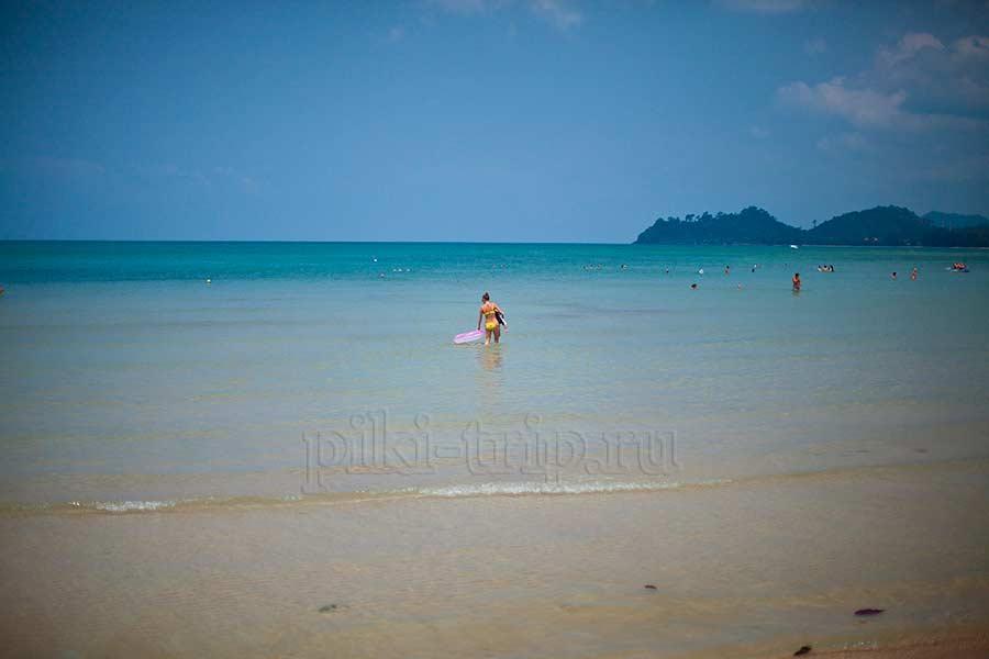 Экскурсии в Паттайе - поездка на Ко Чанг запомнилась. Пляжи и море прекрасные!