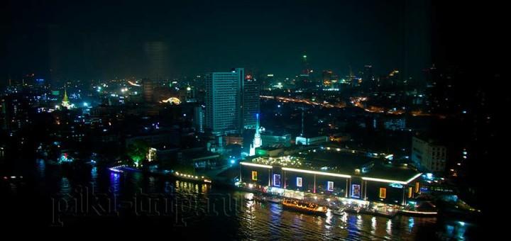 Ночной Бангкок из окна Миллениум Хилтона