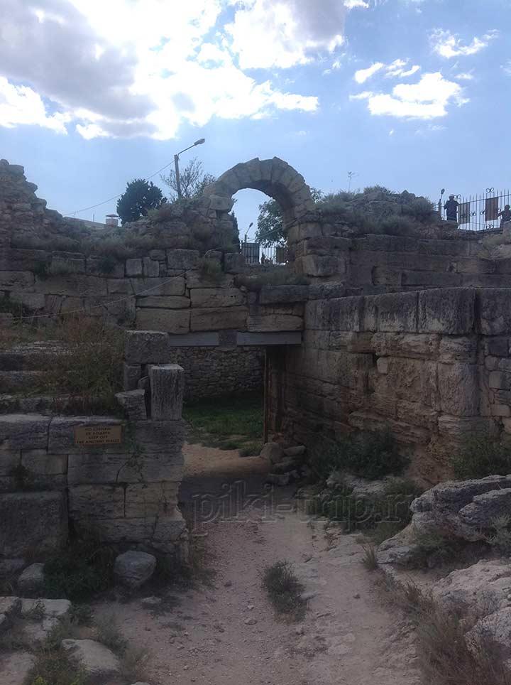 Херсонес Таврический. Древние постройки (фото)