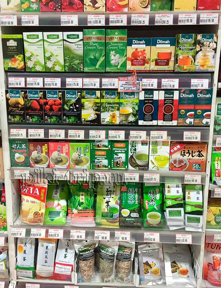 чай явно относится к деликатесам, потому что цены на него просто ужас