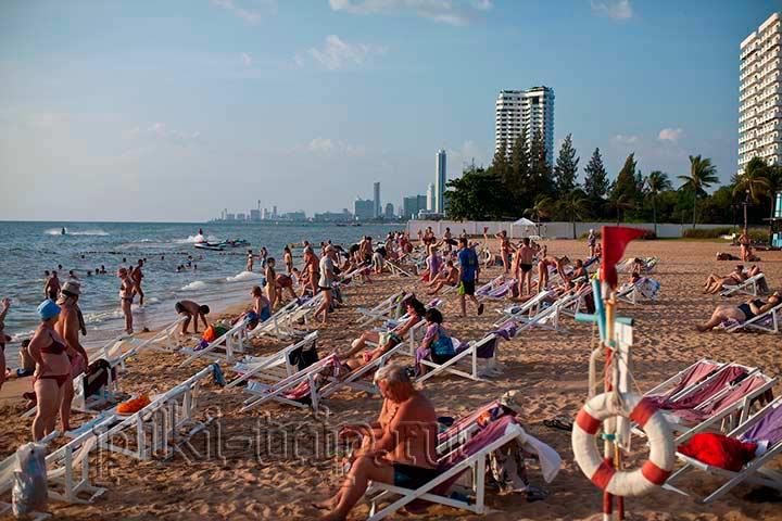 пляж отеля Амбассадор - Сочи!